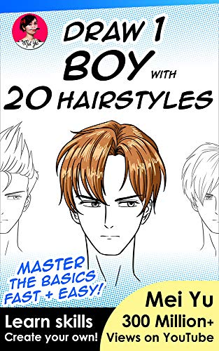 Draw 1 Boy with 20 Hairstyles: L...