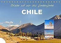 Erlebe mit mir das farbenfrohe Chile (Tischkalender 2022 DIN A5 quer): Chile ist ein faszinierendes Land an der Westkueste Suedamerikas. (Monatskalender, 14 Seiten )