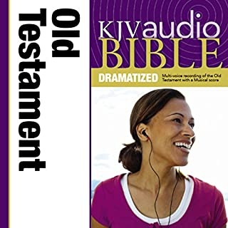 Dramatized Audio Bible - King James Version, KJV: Old Testament cover art