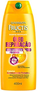 Shampoo Fructis Óleo Reparação Pós Química, 400 ml, Garnier