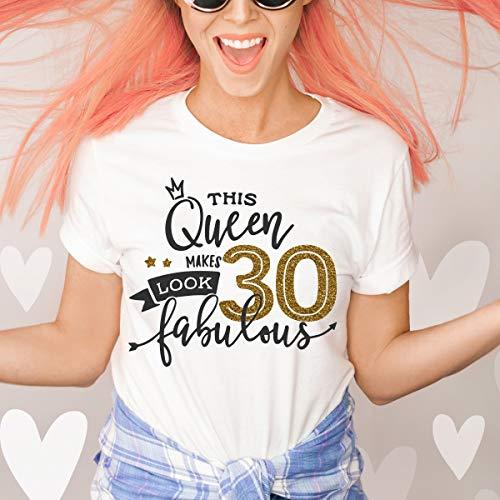Posh Soiree30th Birthday Tshirt 30 And Fabulous Tshirt 30th Birthday Gift For Her Dirty Thirty Shirt Thirty Af Birthday Birthday Party Shirt Dailymail
