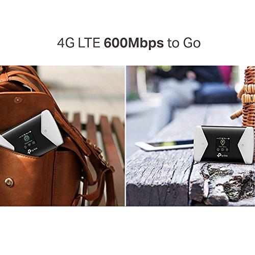 TP-Link M7650 600Mbps LTE-Advanced Mobile Wi-Fi Wireless Router (UK Version - nicht für Deutschland)