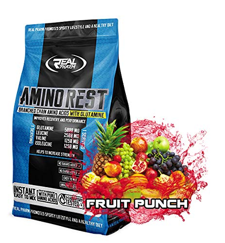Real Pharm Amino Rest – Multi Mix Aminosäuren Powder – Instant BCAAs Formula