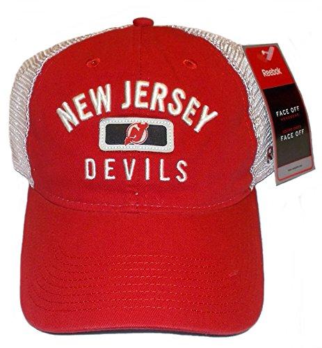 Reebok New Jersey Devils Soft Mesh Slouch Adjustable Hat - OSFA - EY63Z