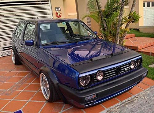 Cobra – Sujetador para capó de coche, compatible con Volkswagen Golf MK2 GTI 1984 1985 1986 1987 1988…