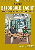"""Betongold lacht - Cartoons (Wandkalender 2022 DIN A4 hoch): """"Betongold lacht - Cartoons"""" von Birgit Tanck nimmt humorvoll Themen rund um die Immobilie auf´ die Schippe.. (Monatskalender, 14 Seiten )"""