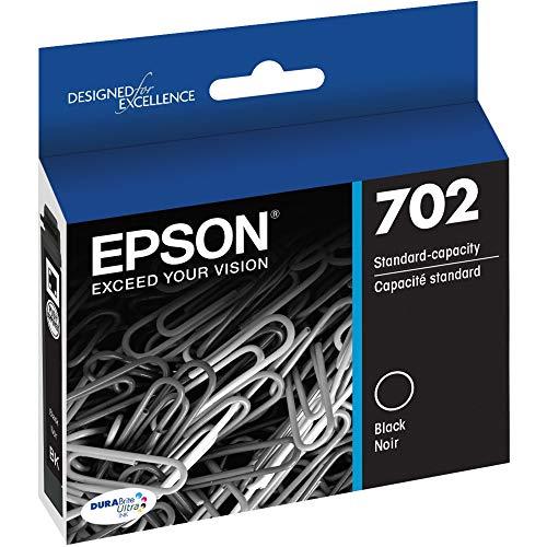 EPSON T702 DURABrite Ultra Ink Standard Capacity Black Cartridge (T702120-S) for select Epson WorkForce Pro Printers