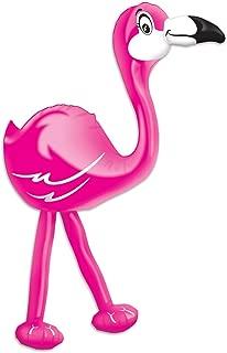 B Inflatable Latex Jumbo Pink Flamingo