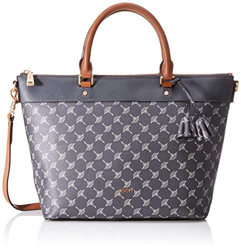 Joop! Damen Cortina Thoosa Handbag Lhz Henkeltasche, Grau (Darkgrey), 27x13.5x41 cm