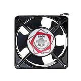 Earlyad Ventilador Ventilador 220 V Bajo Ruido Axial Refrigerador de Bajo Ruido Ventilador de Caja Estándar para Accesorios de Generador Solder Ventilador de Escape