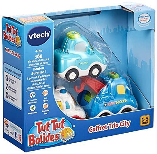 Vtech - 207325 - Jouet Musical - Tut Tut Bolides - Coffret Trio City - Version FR