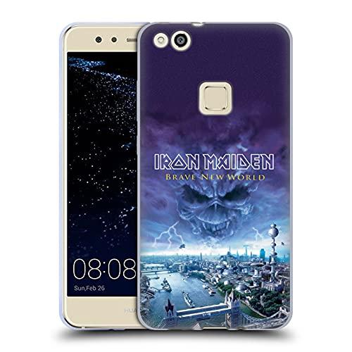 Head Case Designs sous Licence Officielle Iron Maiden Brave New World Couvertures D'Album Coque en Gel Doux Compatible avec Huawei P10 Lite