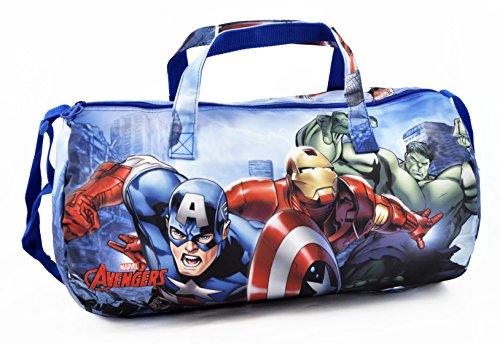 Avengers M94204 MC - Borsone Sport Avengers World, Multicolore
