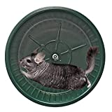 Exotic Nutrition 15' Chin-Sprint : All-Metal Durable, Fast Exercise Wheel - for Chinchillas, Prairie Dogs, Rats, Degus, Hedgehogs, Opossums & Other Small Pets (Black)