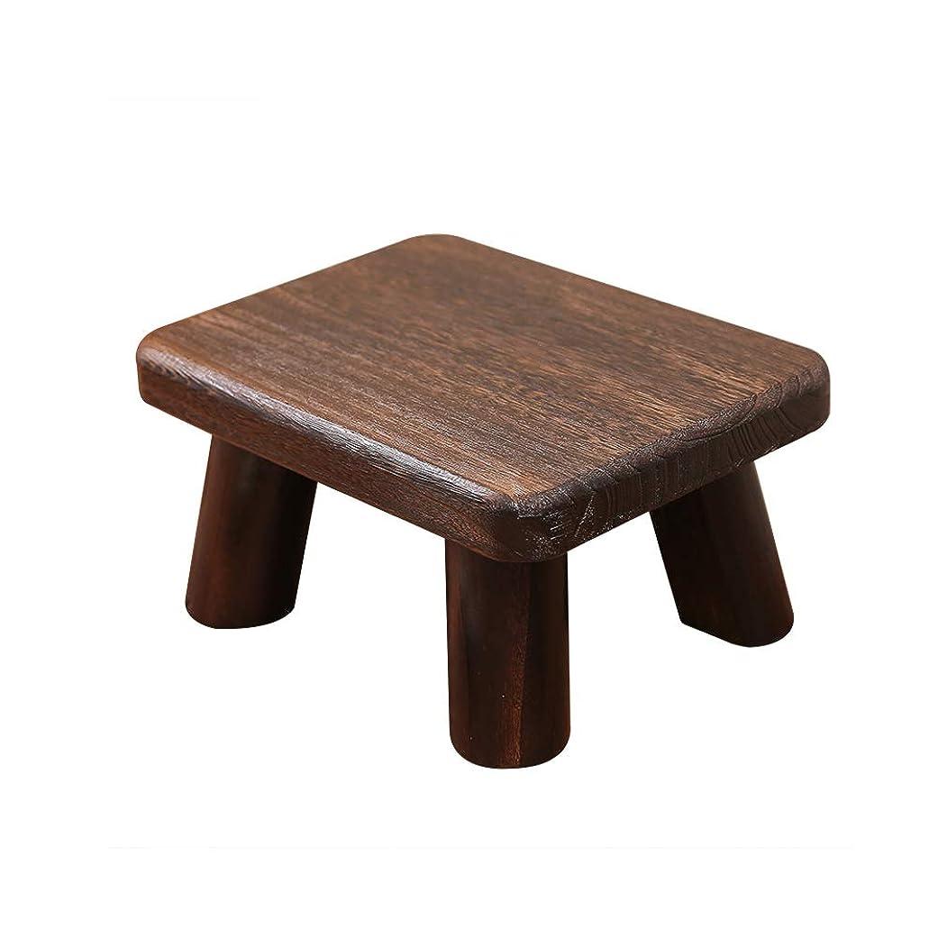 解く責める修正木製の小さなベンチホームスツールソファスツール大人の低いスツールコーヒーテーブルスツール子供スツール変更シューズスツールトイレフットスツール