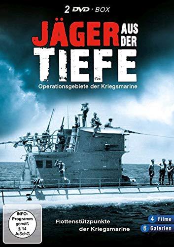 Jäger aus der Tiefe-Deutsches U-Boote im 2. Weltkrieg-Das Boot (2 DVD Schuber)