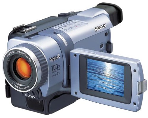 Sony DCR-TRV240 Digital8-Camcorder inkl. Pinnacle Videoschnittsoftware