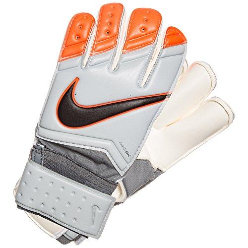 Nike Herren Goalkeeper Gunn Cutt Torwarthandschuhe, Grau/Orange, 11.0 cm