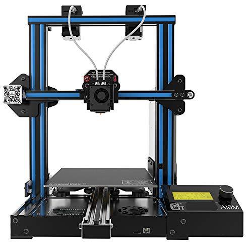 CIJK Impresora 3D, Nivelación Automática 3D DIY Kit De Impresora para Adultos con Función De Reanudar La Impresión, Pantalla Táctil, Detección De Filamentos, Impresión