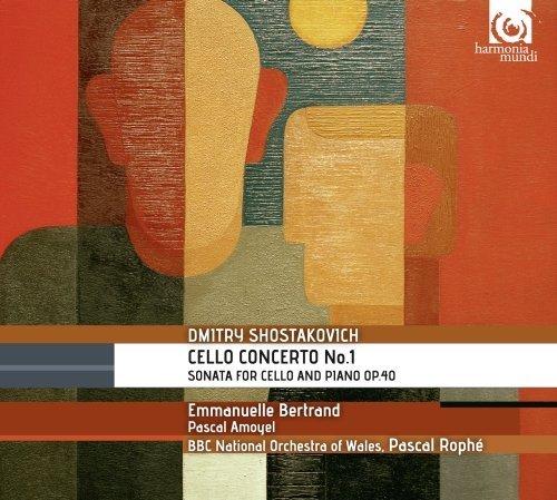 Shostakovich: Cello Concerto No.1, Sonata for Cello and Piano op.40 by Emmanuelle Bertrand (2013-05-10)