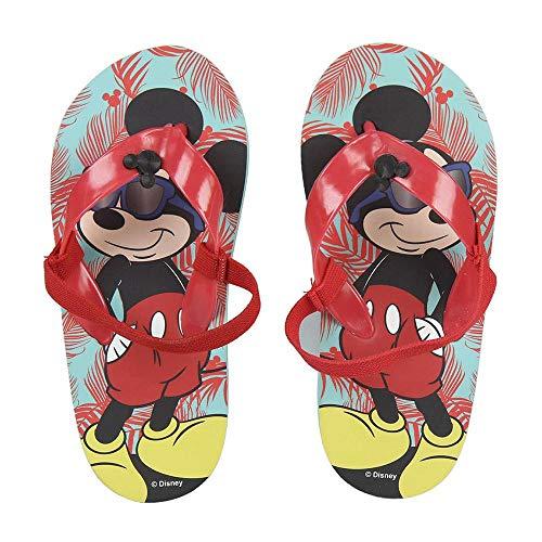 Mickey Mouse Unisex-Kinder S0711601 Flip Flop, Mehrfarbig, 27 EU