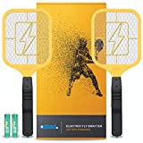 Bug Zapper Racket: Electric Fly & Mosquito Swatter Mini Handheld Battery Powered , 2 Pack from OSTAD for Total Pest...
