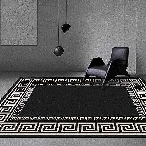 Tappetti tapetto casa moderni soggiorno Tappeto classico soggiorno minimalista bordo geometrico...