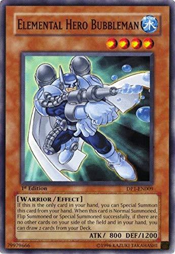 Yu-Gi-Oh! - Elemental Hero Bubbleman (DP1-EN009) - Duelist Pack 1 Jaden Yuki - Unlimited Edition - Common