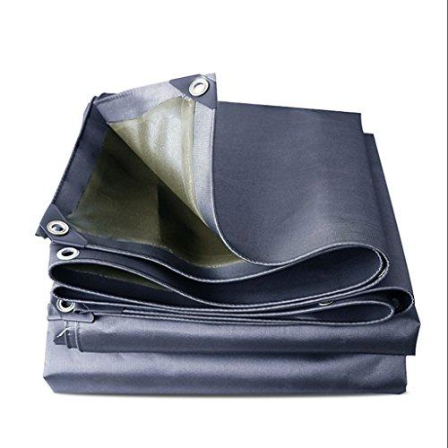 Parasol multifonctionnel extérieur de bâche de pluie d'épaississement de pluie/imperméable/ignifuge 550 g/mètre carré (Size : 4m×5M)