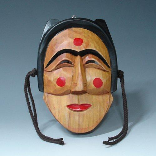 Le masque traditionnel coréen de décoration en bois de Hahoe