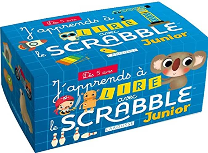 J'apprends à lire avec le Scrabble