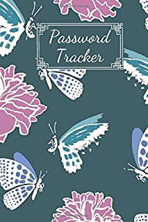 Password Tracker: Password Journal And Logbook To Protect Usernames and Passwords (100 Pages 6 x 9 )