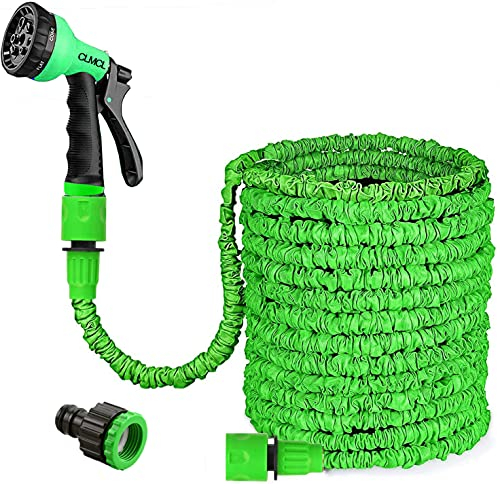 CLMCL 75ft Expandable Garden Water Hose Pipe with 3/4', 1/2' Fittings,...