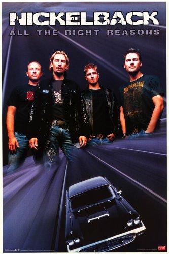 Nickleback - Music Poster - 22 x 34