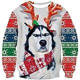 Funny Husky Christmas Sweater