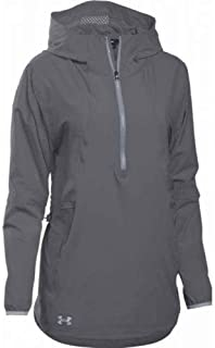 Under Armour Women's Squad Woven 1/2 Zip Jacket