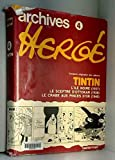 Archives Hergé - Tintin - Vol 4 - Casterman - 04/05/1993