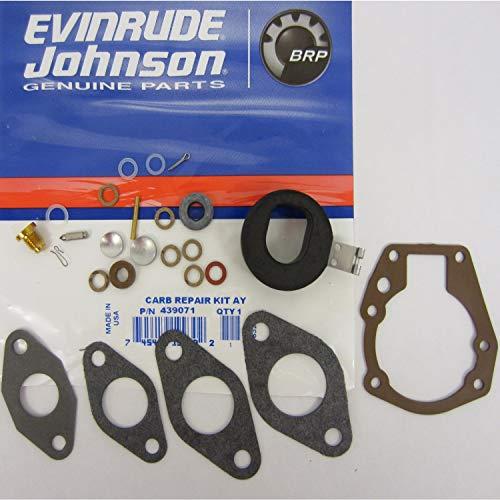 OEM Evinrude Johnson BRP Outboard Carburetor Kit 439071