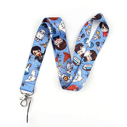 Movie Wizard Student Cool Creative Badge ID Cordones Cuerda para teléfono móvil Cordón para llaves Correas para el cuello Accesorios, 2