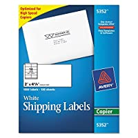 AVE5352 - Avery Self-Adhesive Shipping Labels for Copiers by Avery [並行輸入品]