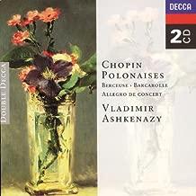 chopin polonaises ashkenazy