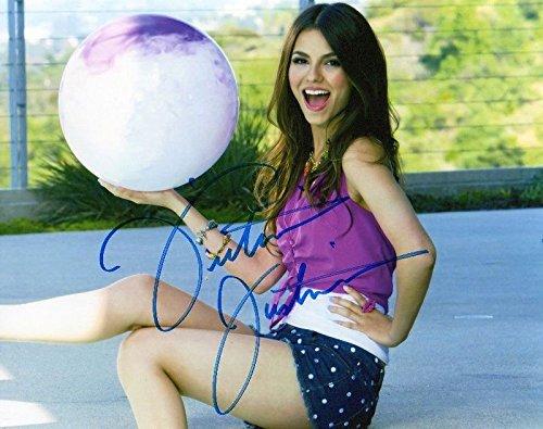 FM Victoria Justice Signiert Autogramme 21cm x 29.7cm Plakat Foto