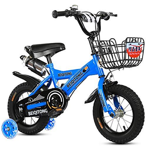 AI-QX 12-18Pulgadas Bicicleta Infantil Estudio Aprendizaje Montar a Caballo Bicicleta niños niñas...