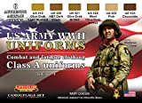 Série de peintures camouflages LifeColor CS17 WWII US ARMY UNIFORMS SET1 Combat and...