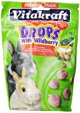 Vitakraft Rabbit Wild Berry Drops and 5.3-Ounce Pouch by Vitakraft