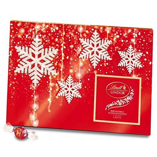 Lindt Scatola Natale Cioccolatini Lindt Lindor Latte - 350G - 350 g