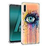 ZhuoFan Coque Samsung Galaxy A50, Etui en Silicone 3D Transparente avec Motif Dessin...