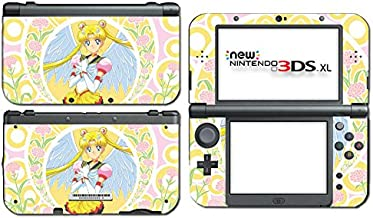 Sailor Moon Angel Wings Flowers Game Vinyl Decal Skin Sticker Cover for the New Nintendo 3DS XL LL 2015 System