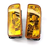 SANWAN Kit de Faros Antiniebla Delanteros para Coche E36 Serie 3 92-98 2 Luces Amarillas