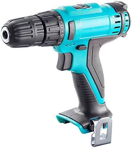 AGT Akkuschrauber Pistole: Akkuschrauber (ohne 10,8-V-Akku) mit Drehmoment-Wahl und LED-Licht (Schrauberbit Akkuschrauber)